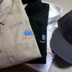 broderie sur chemise et casquette